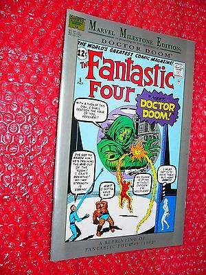 Marvel Milestone Edition   Fantastic Four (#5)  1991  Dr. Doom   d
