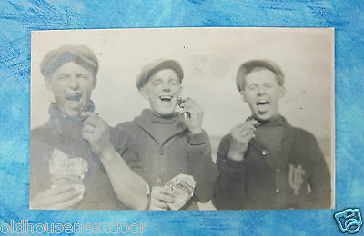 3 University Florida w/Iron Horse Tobacco RPPC   PC-8