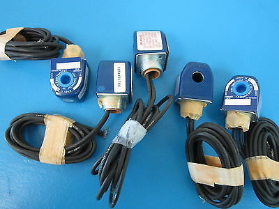 Lot of 5 NEW CARRIER/CARLYLE PARTS - 06DA401784 - SOLENOID COIL - ALCO # 707RA01