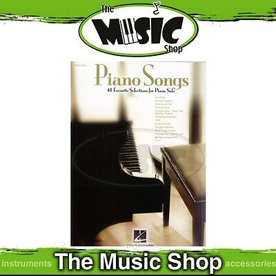 New Piano Songs Music Book for Piano Solo