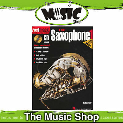 New Fasttrack Eb Saxophone Book 1 with CD -  Fast Track Sax Book
