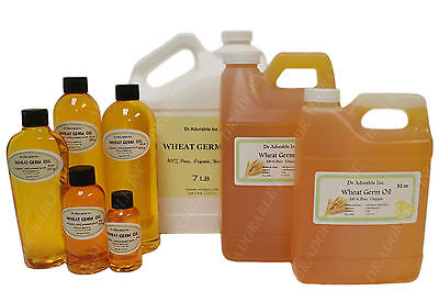 EXTRA VIRGIN WHEAT GERM OIL  COLD PRESSED NATURAL PRODUCT 2oz - 1 GALLON FREE SH
