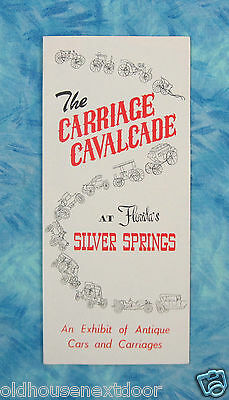 Vintage Carriage Calvacade Museum Florida Rack Flyer,  (VM-32)