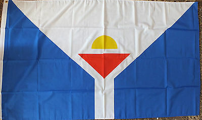 Saint Martin 5x3 Unofficial Flag French Caribbean Tourism Hotel France bnip
