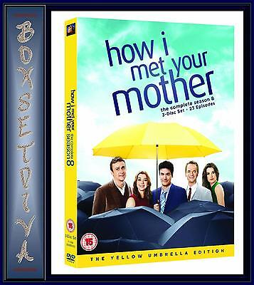 How I Met Your Mother - Complete Series Season 8 *Brand New Dvd **