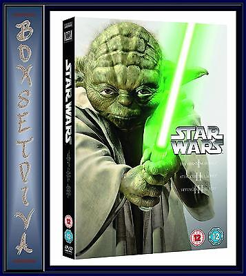 Star Wars - The Prequel Trilogy - Episodes I - Iii **Brand New Dvd **