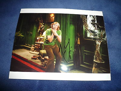 MATTHEW LILLARD  signed Autogramm 20x25 cm In Person SCOOBY DOO , SCREAM