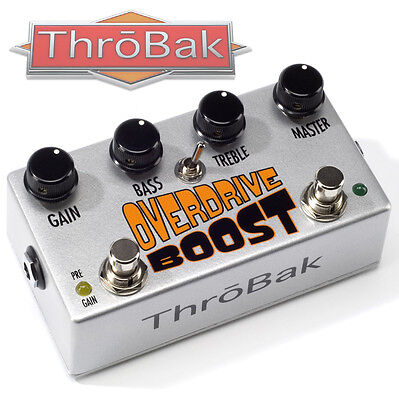 ThroBak Overdrive Boost Vintage Pedal Clone