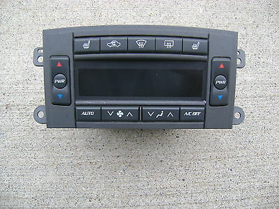 03-06 CADILLAC CTS A//C HEATER CLIMATE TEMPERATURE CONTROL P// N MX237000-0782