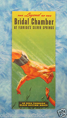 1950's Bridal Chamber Silver Springs Florida  Rack Flyer  (VM-36)
