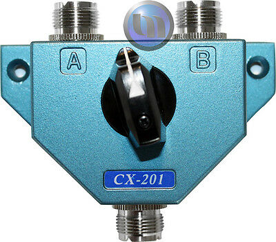 AXIS - 2-WAY COAXIAL ANTENNA SWITCH - Frequency Range: Up to 600MHz