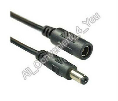 3m 10ft 2.1mm DC Power Extension Cable for CCTV Security Camera 12V DC