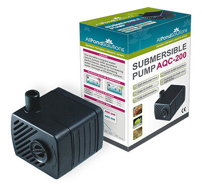 Aquarium Submersible Fish Tank Water Pump + Flow Adjuster - Ornamental Features