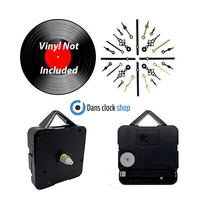 New Vinyl Record Clock Making Kit - Convert Your Old Records To Clocks - Craft