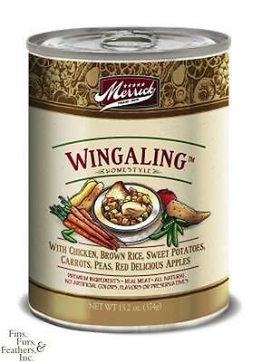 Merrick Wingaling Canned Dog Food 12 - 13.2oz Cans