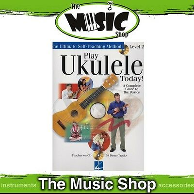 New Play Ukulele Today Level 2 Music Tuition Book with CD