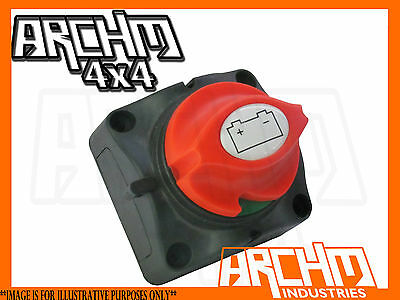 Battery Master Isolator Switch Suits 12V/24V Systems 4Wd/truck/boat/caravan/car