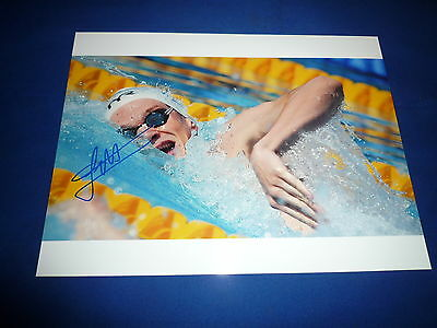 YANNICK AGNEL   signed Autogramm 20x28 cm In Person  2x OLYMPIA Gold 2012
