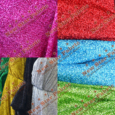 """SEQUIN CONFETTI STRETCH FABRIC  58"""" wide, sold By The Yard"""