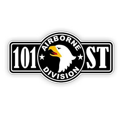Sticker 101st airborne division div screaming eagles us for 101st airborne window decals