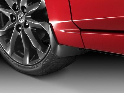 2014 -2018  Mazda 3 Front and Rear Splash Guards (mud flaps) 4-Door Sedan