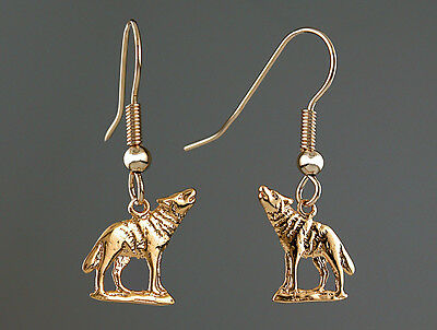 Boucles d'Oreilles LOUP - Earrings with WOLF