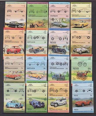 VINTAGE CARS Leaders Of The World IMPERF Issues MNH