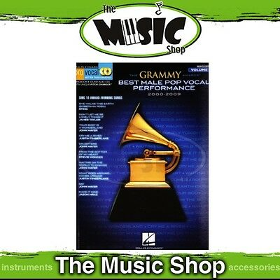 New Grammy Awards Best Male Pop Vocal 2000-2009 Pro Vocal Book & CD - Vol. 60