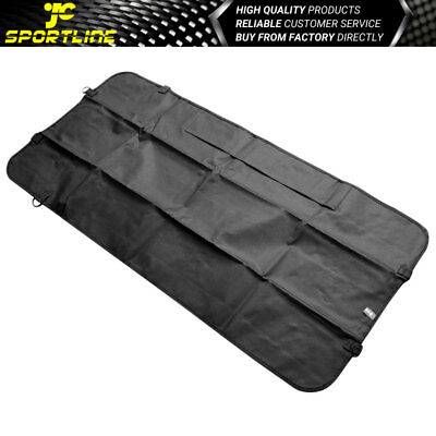 Dog Pet Hammock Waterpoof Car Front Seat Cover Blanket Mat With seat belt Black