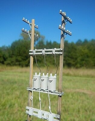 HO Scale 30 Ft Three-Phase Down-line Regulator Assembly for ModelRailroad (2300)