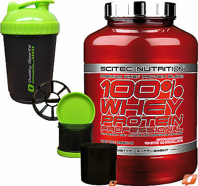 SciTec NUTRITION 100 % WHEY PROTEIN PROFESSIONAL WITH EXTRA AMINOS AND ENZYMES