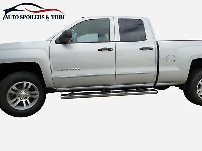 Silverado Double Cab Painted Body Side Moldings  2014 2015 2016 2017 2018