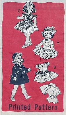 "OLD MAIL ORDER FITS 16"" TERRI LEE, SAUCY WALKER DOLL CLOTHES PATTERN 4626"