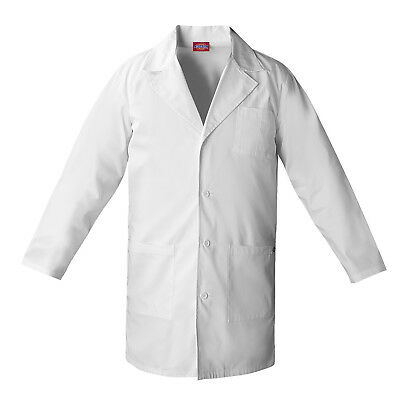 Dickies Unisex White Lab Coat - 83402 - Sizes Xs -2Xl