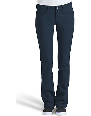 48411d86d5b909 Dickies Junior Navy Stretch Pants Classic 5 Pocket Low Rise Sizes 0 to 15