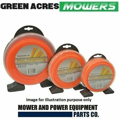 SQUARE TRIMMER LINE 3.0mm x 47m COMMERCIAL GRADE WHIPPER WIPPER SNIPPER