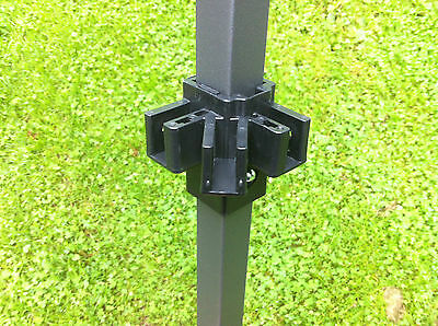 Pop-up Gazebo Replacement/Spare Parts: Leg Sliding Bracket - 25mm