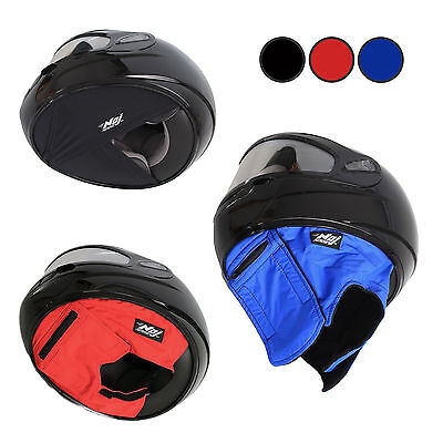 The Original Quiet Rider Helmet Skirt - Reduce Helmet Noise & Increase Comfort