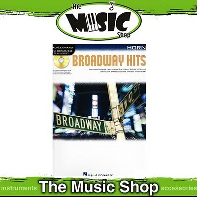 New Broadway Hits for French Horn Music Book & CD
