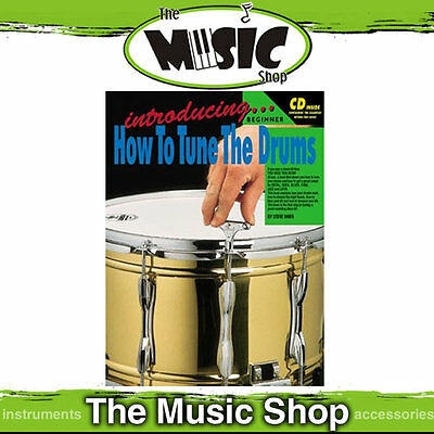 New Progressive Introducing How to Tune The Drums - Book & CD - Drum Tuning