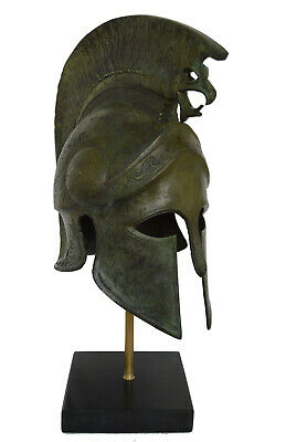 Bronze Griffin Helmet Ancient Greek marble based Great helmet artifact