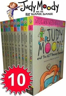 Judy Moody Collection 10 Books Set Megan McDonald (and the not Bummer Summer)