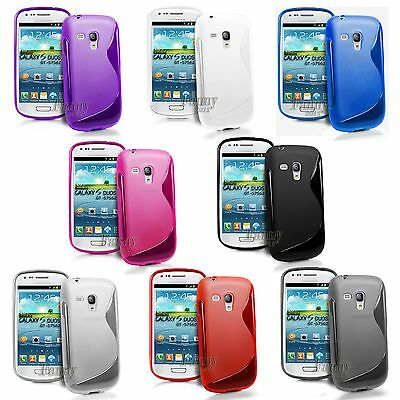 For Samsung Galaxy S Duos, S7562 S7582 S7580 Soft Gel TPU Case Cover Skin