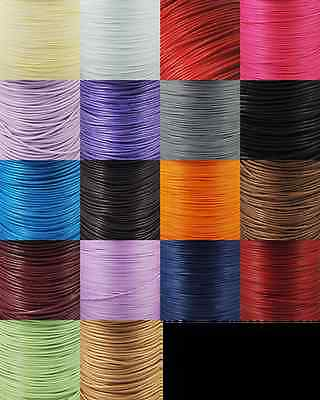 Polyester Waxed Cord  1mm- 32 colours-Buy 2 get 1 Free-*while stocks last*