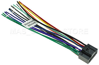 WIRE HARNESS FOR Jvc Kdr370 Kd-R370 *Pay Today Ships Today ... on jvc speaker, jvc kd r330 wiring, standard car stereo wire diagram, jvc wiring harness, jvc dvd car stereo wiring, jvc harness diagram, jvc kd r200 wire diagram, jvc user manual, sony stereo wire harness diagram, jvc kd s29 wiring,