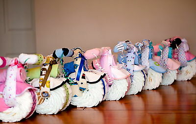 Motorcycle & Tricycle Diaper cake Baby Shower Centerpiece for boy girl or Unisex