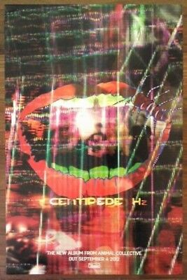 ANIMAL COLLECTIVE Centipede Hz Ltd Ed Discontinued RARE Poster+FREE Indie Poster