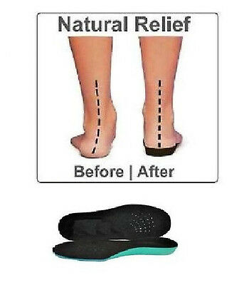 NEW Full Length Children's Orthotic Insoles, arch supports, Flat Feet, Arch Pain
