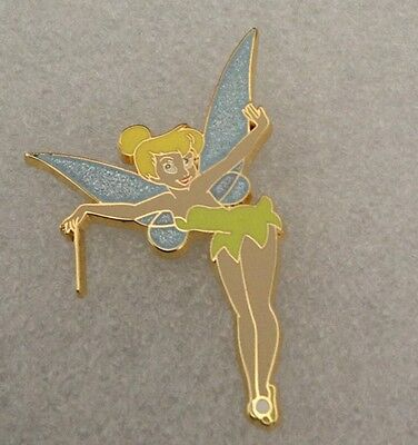 Disney Fairies Trading Pin - Tinker Bell Fairy Pixie Glitter Wings Wand - 75894