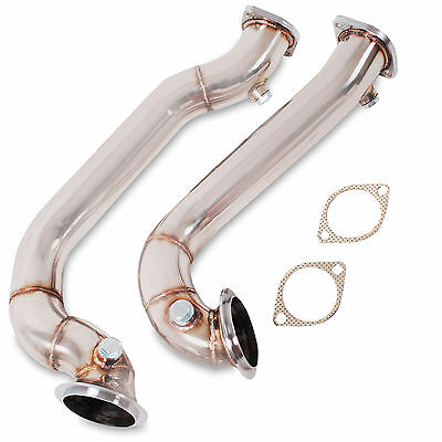 Direnza Stainless Decat De Cat Exhaust Downpipe For Bmw 1 3 Series E88 E90 E92